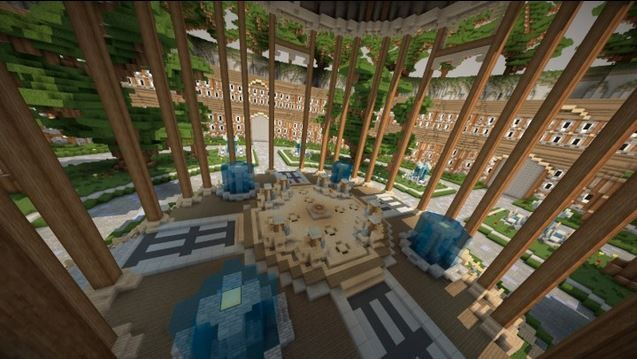 Minecraft Lobby Map Minecraft Hub Lobby Spawn Map Minecraft