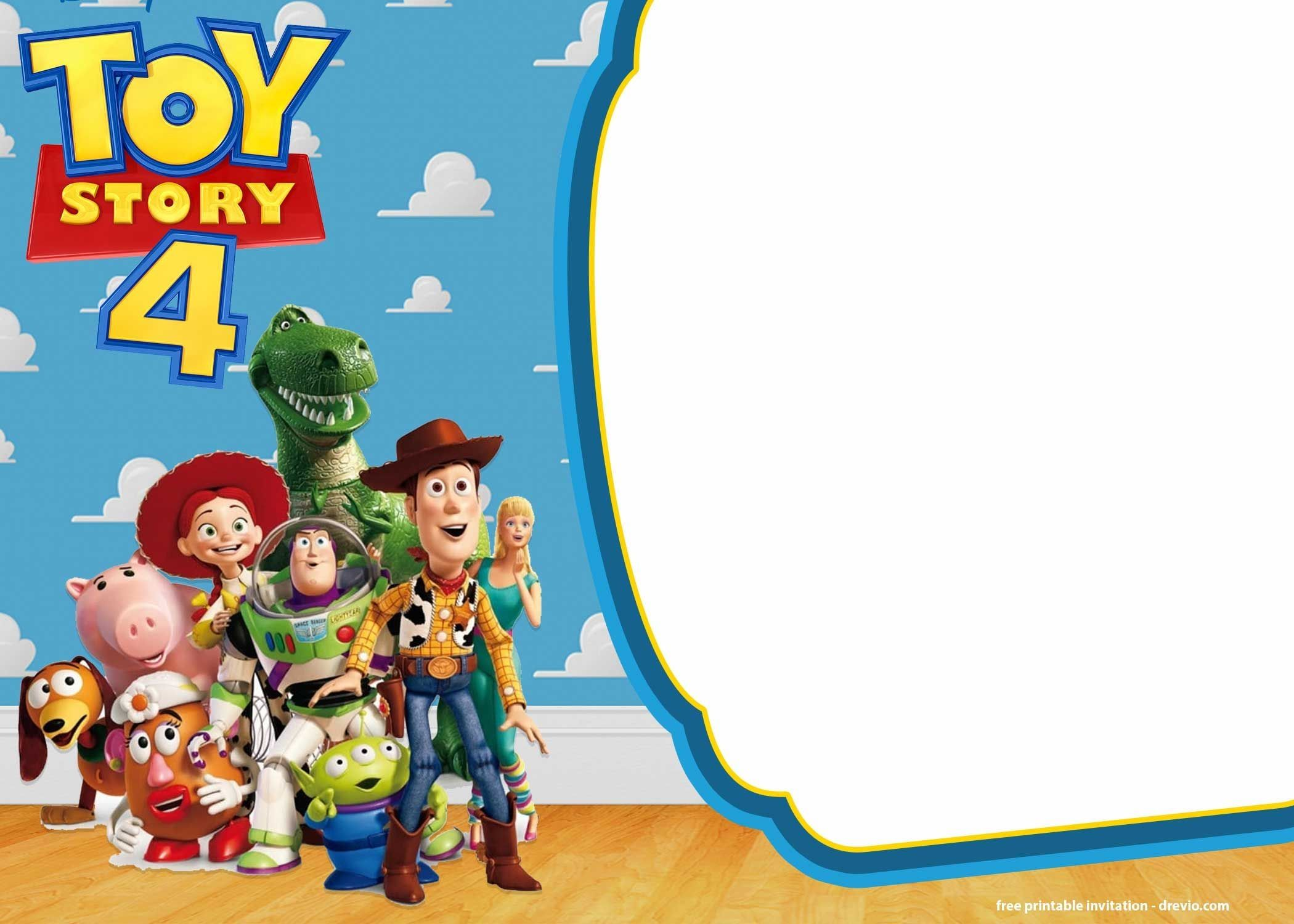 toy story 5 invitation template free FREE Printable Toy Story 5