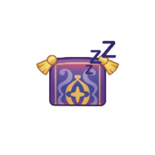 The Magic Carpet As An Emoji Sleeping Drawing By Disney Aladdin Sleeping Drawing Disney Emoji Blitz Disney Emoji