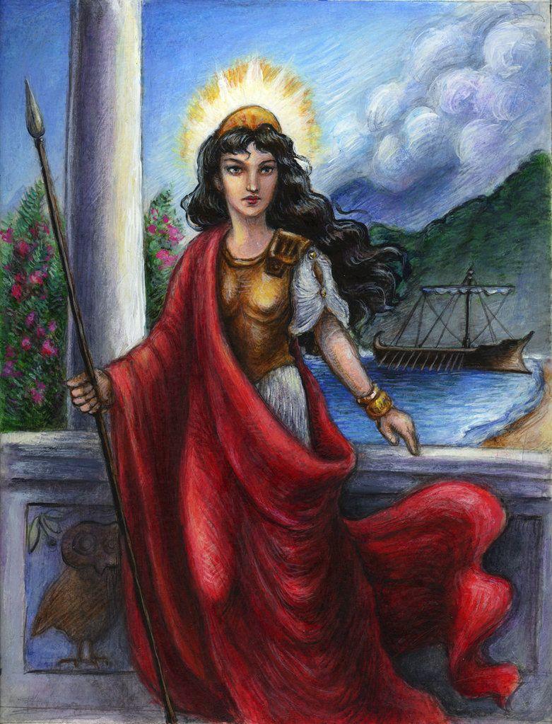 Athena the Goddess | Athena Goddess of Wisdom and War ...