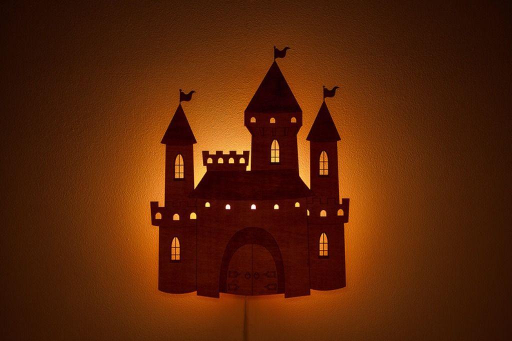 """Ночник """"Замок"""" Все маленькие принцы и принцессы мечтают о ..."""