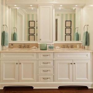 美式双盆浴室柜组合欧式洗脸盆柜卫生间洗手台洗漱台柜卫浴柜落地