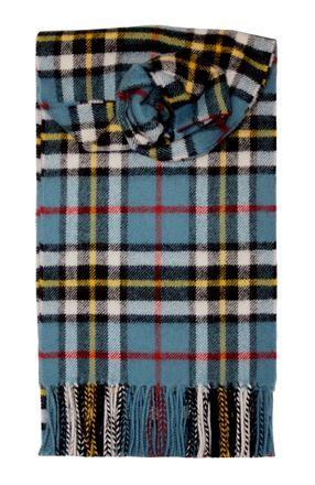 Thompson Blue Lambswool Scarf Tartans Écossais, Écharpe À Franges, Styles  Écharpe, Écharpe À 43224aa7214