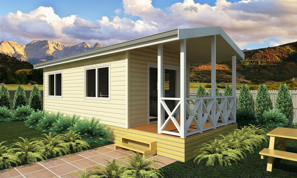 Tui 1 Bedroom Cabin Prefabricated Cabins Prefabricated Houses Holiday Home