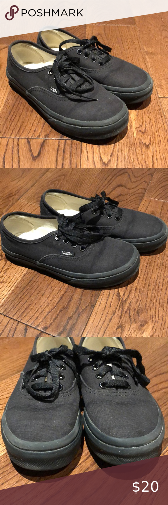 Vans Doheny Kids' Skate Shoes all black