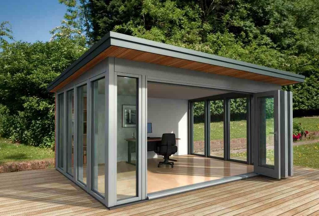 glass garden office - Google Search