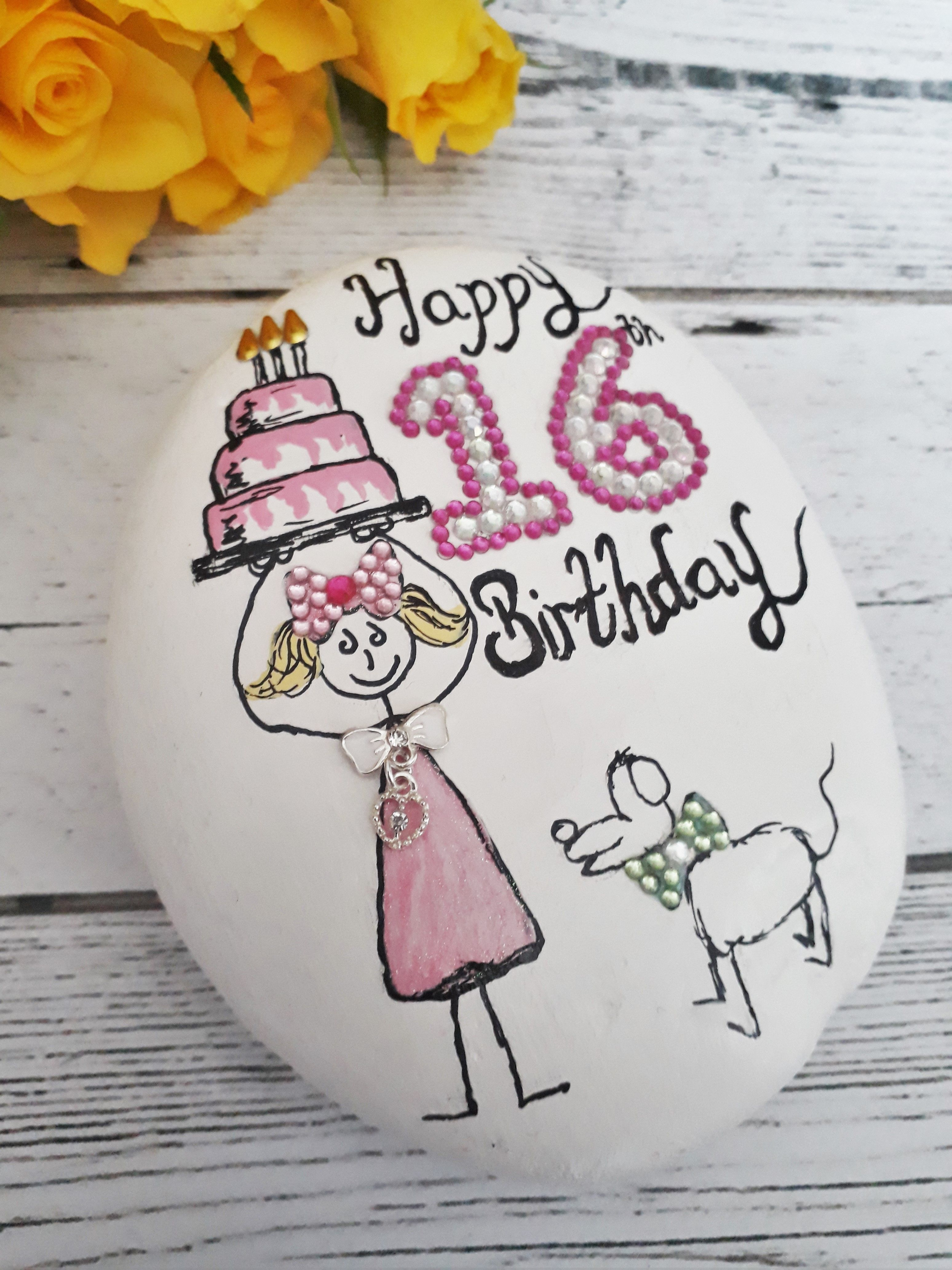 16th birthday gift for her 16th birthday keepsake