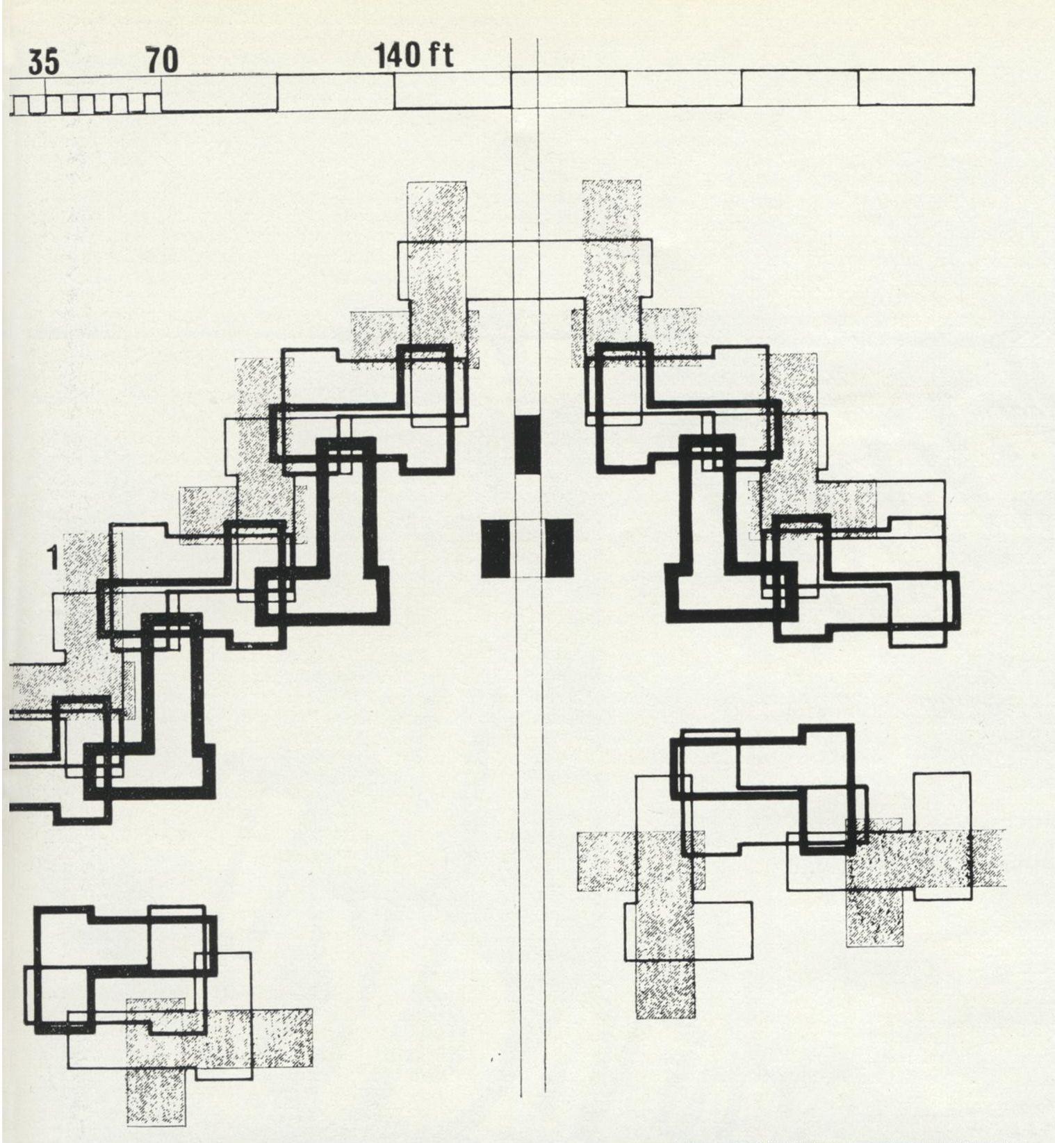 Habitat 67 Moshe Safdie Modern Architecture A Visual Lexicon 723x783 Jpeg Architecture Habitats Site Plan