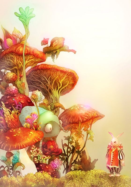 Alice in wonderland cartoon characters-8385