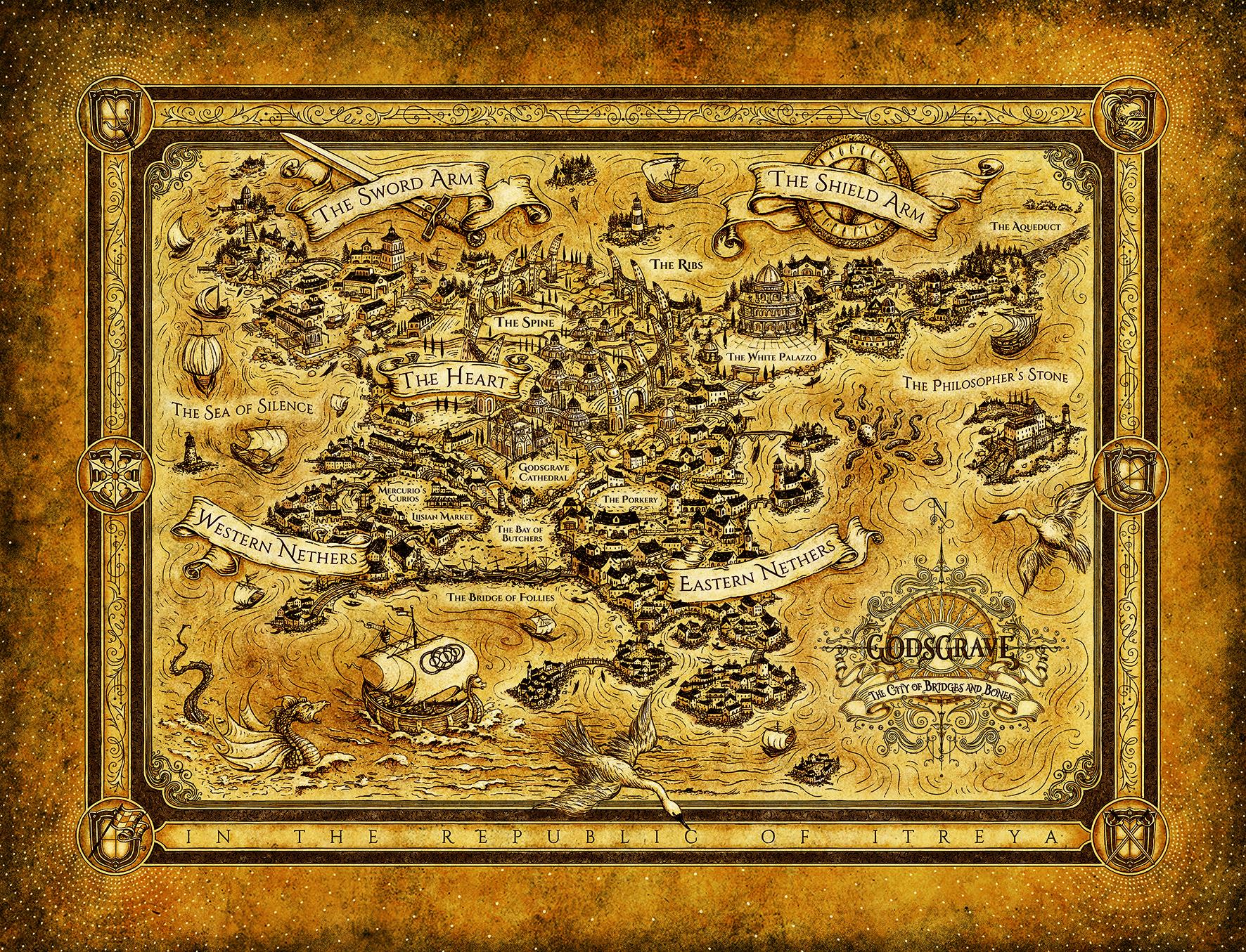 Image result for godsgrave map