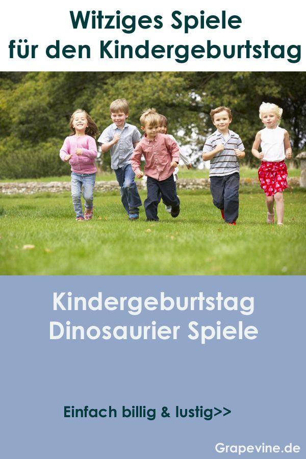 Photo of Kindergeburtstag dinosaurier spiele