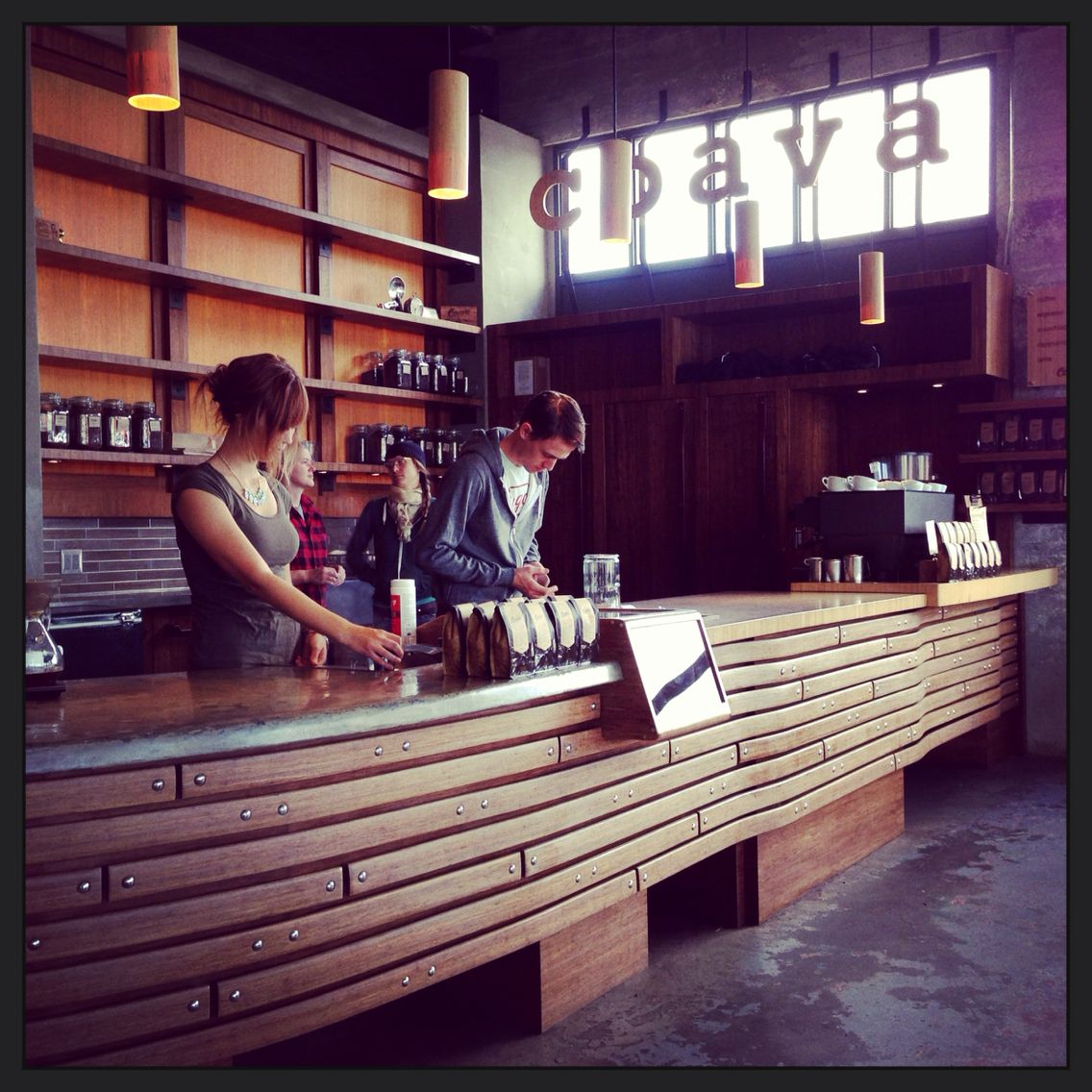 Sep. 2013. #coffee #shop #us #portland