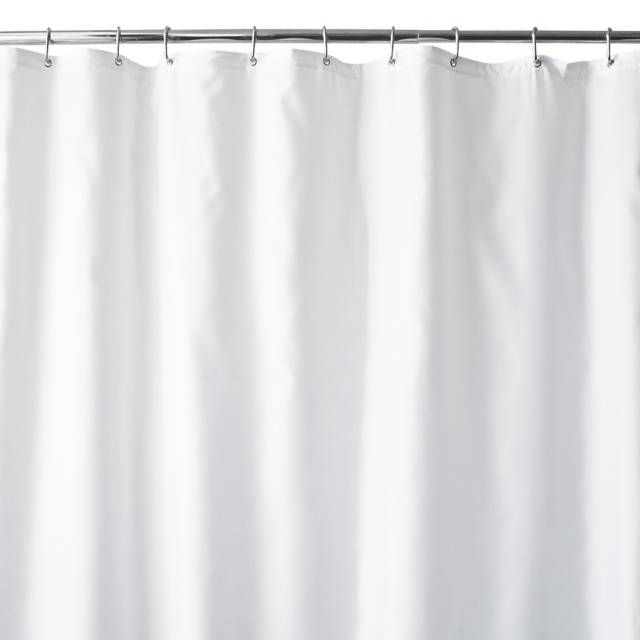 Hotel Fabric 144 Inch X 72 Inch Extra Wide Shower Curtain Liner In