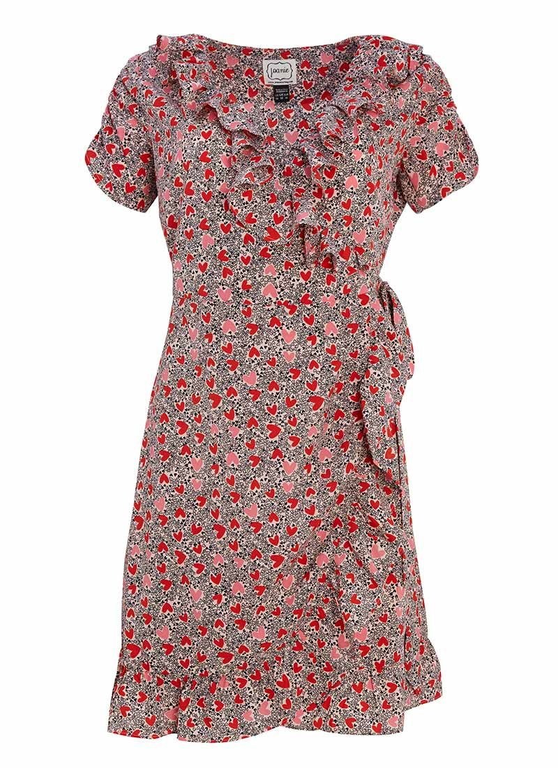 2356c3dc0b7b The Laura tea dress is in a ditsy heart print you'll love. This 40s ...