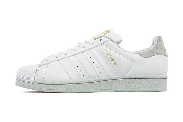 adidas Originals Superstar White/Grey/Gold JD Sports Exclusive