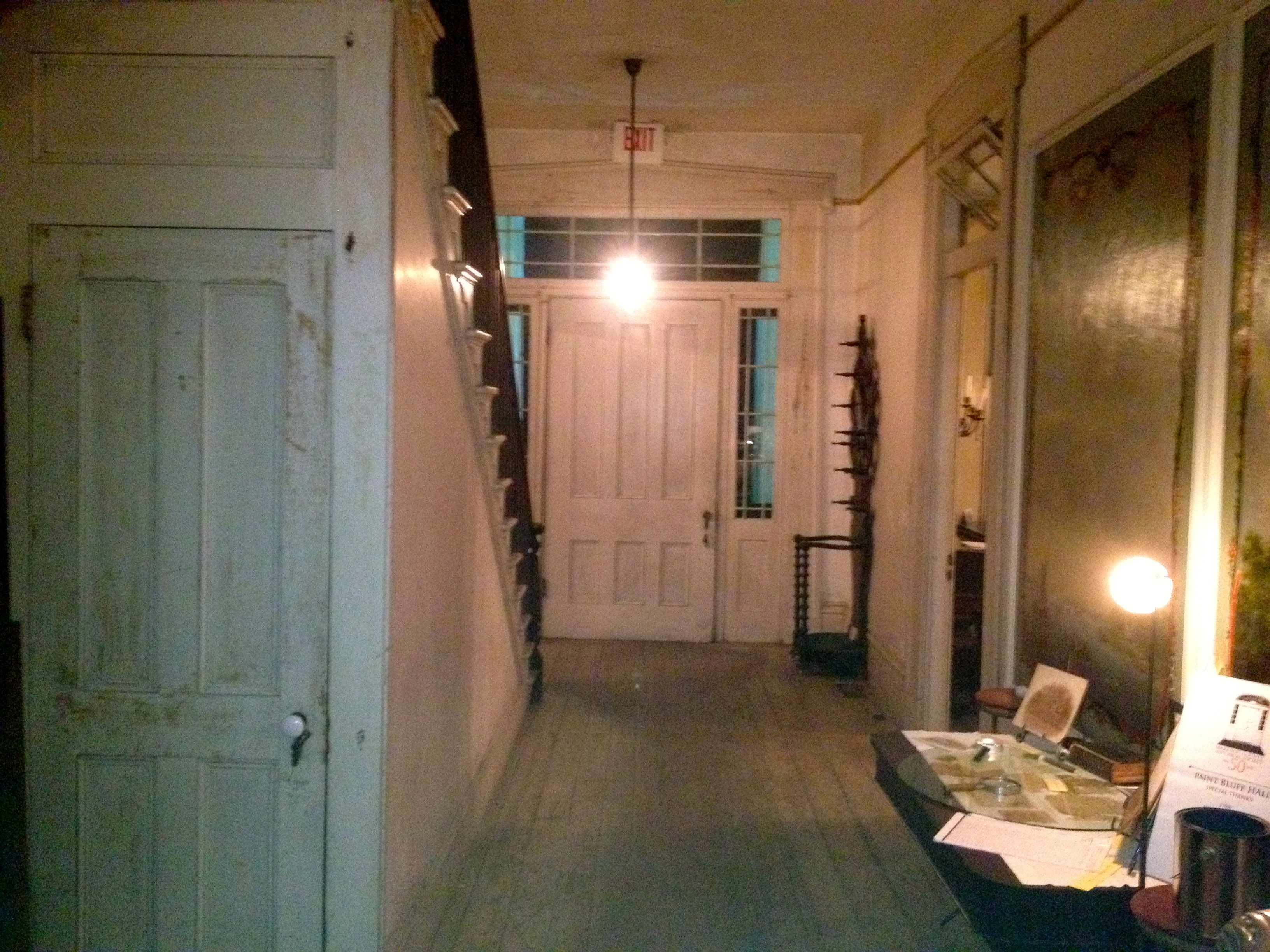 Hallway of Lyon Hall  Demopolis  AL    Demopolis Through My Eyes     Demopolis  AL