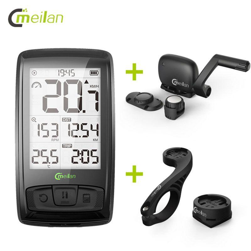 Wireless Bicycle Speedometer Meilan M4 Bike Computer Tachometer
