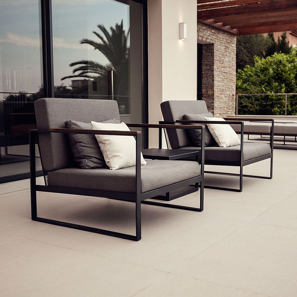 Interior Garden Design Timeless Swedish: Röshults GARDEN EASY Outdoor Lounge Sofas. Timeless
