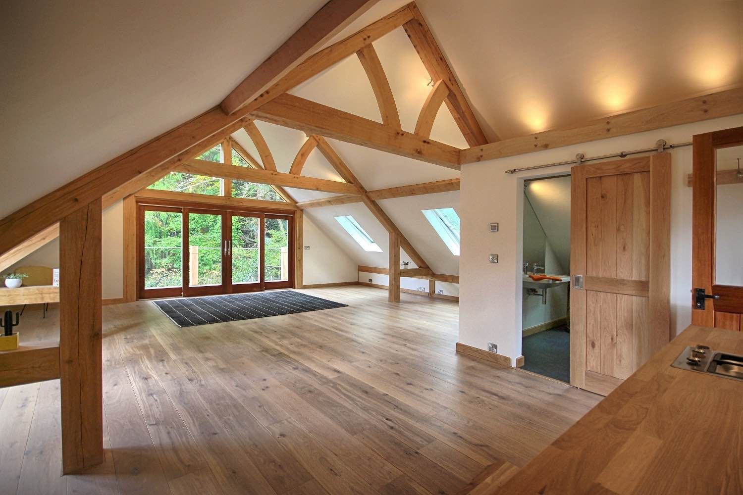Traditional Oak Garages Gallery