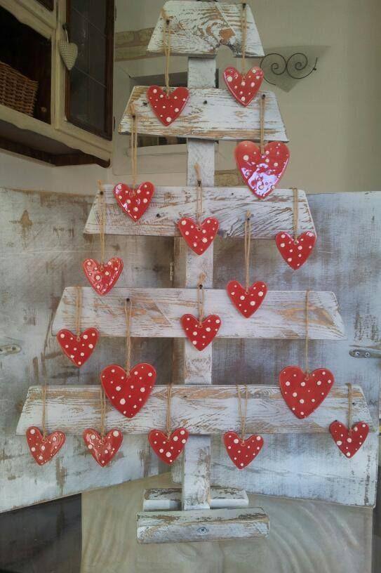 Idee natalizie con pallet e cassette di legno ecco 20 for Idee per decorare