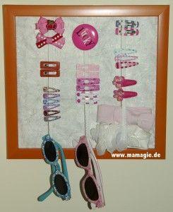 Accessories Board für Haarspangen und mehr #kidshairaccessories