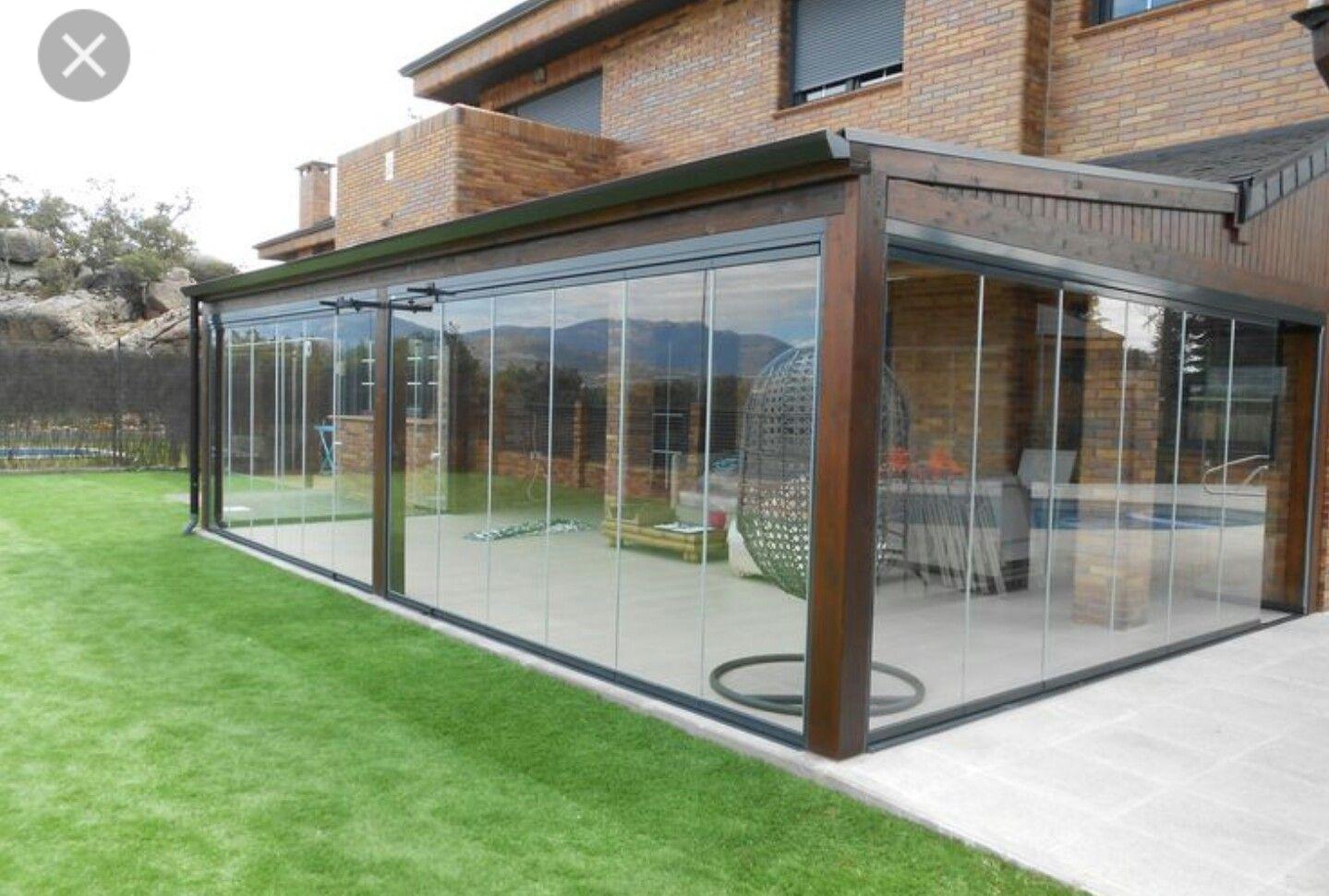 Cerramiento exterior porches arquitetura pinterest for Planos terrazas exteriores