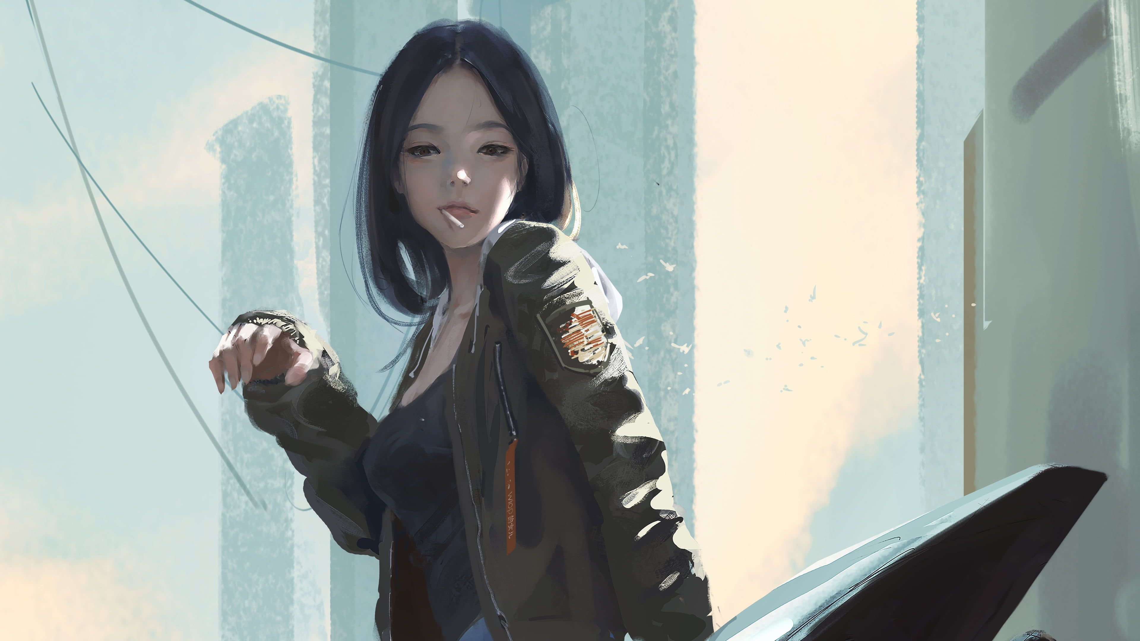 Pin On Huyhuh Anime wallpaper black hair