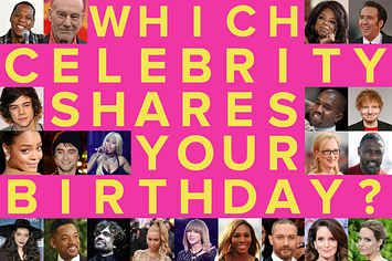 Which Celebrity Do You Share A Birthday With Celebrity Quizzes Birthday Quizzes Zimbio Quizzes
