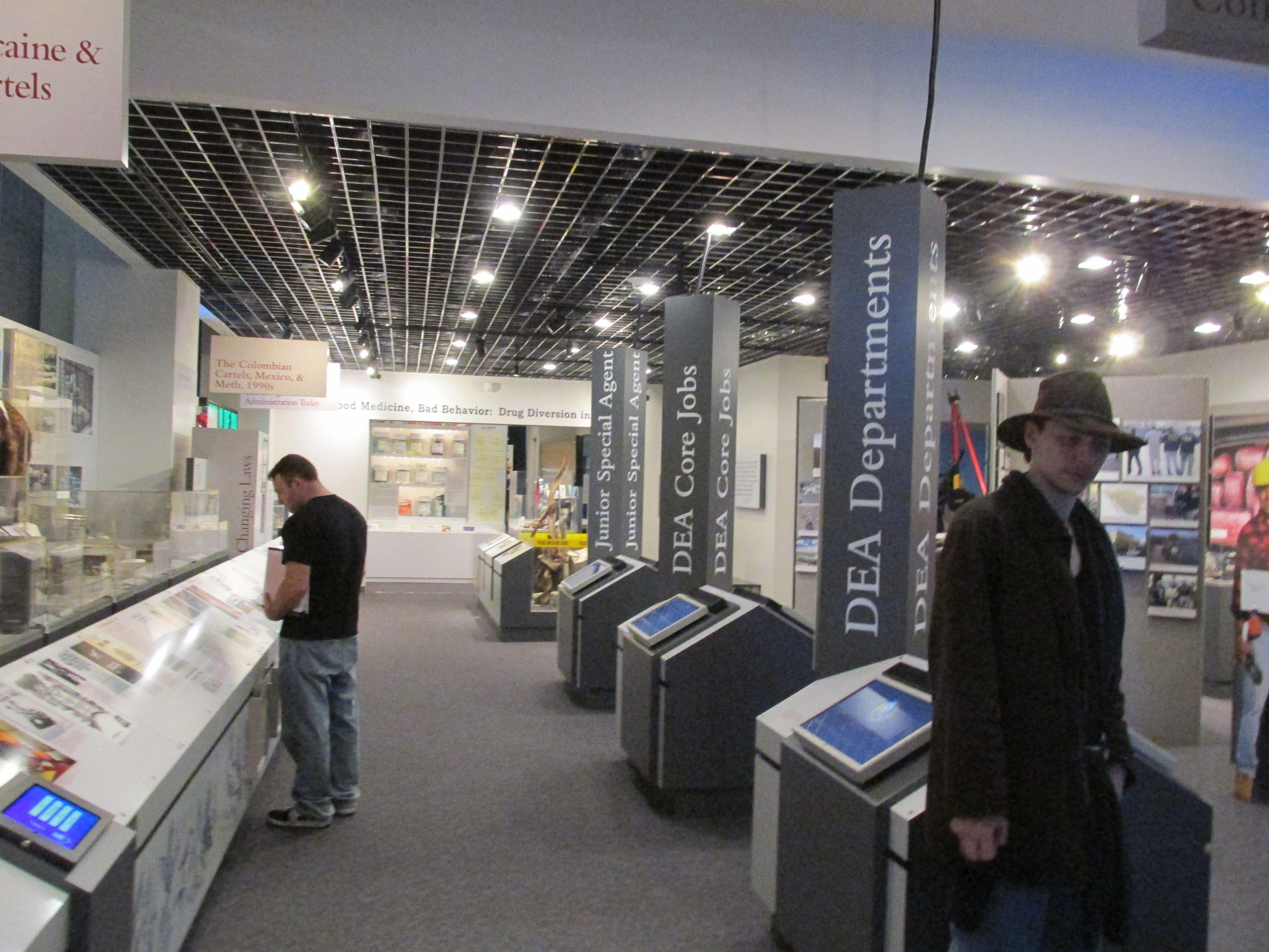 inside the DEA Museum | Drug Enforcement Museum | Museum
