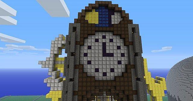 Steampunk Clock Tower Minecraft Project | Minecraft