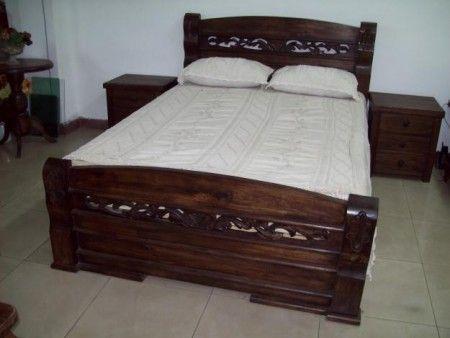 camas en madera rustica - Buscar con Google | decorotion ...
