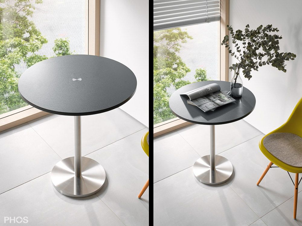 Neuheiten von PHOS Design Tisch aus edelstahl, Dekor