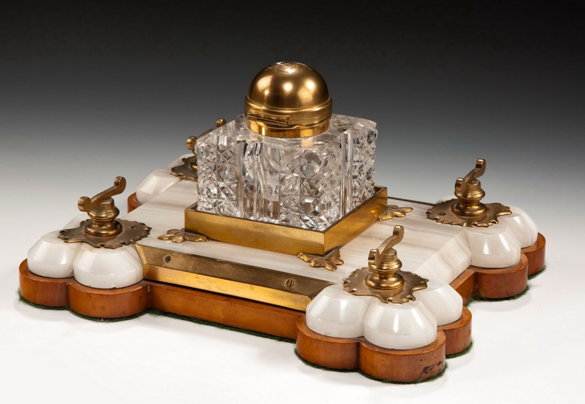BETJEMANNS PARTNERS INKSTAND Richard Gardner Antiques