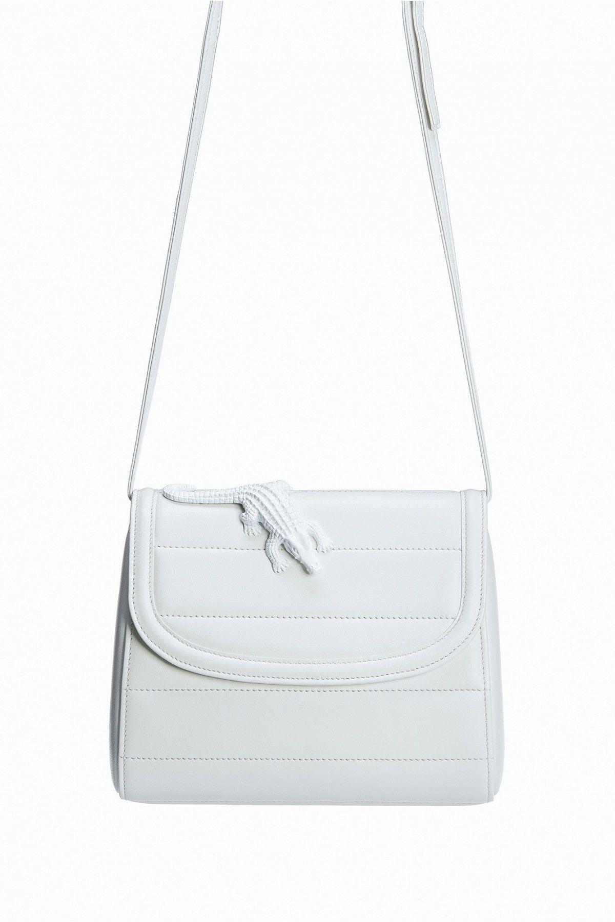 f1e4cc5af84 amelie pichard white leather bag   Wish List   Bags, Lambskin ...
