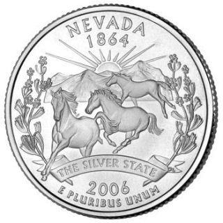 Nevada State Quarter USA State Licenses Seals Quarters - Rare us state quarters