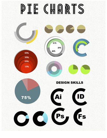 Pie Charts Infographics for Microsoft Word Instant Download Resume - download a resume