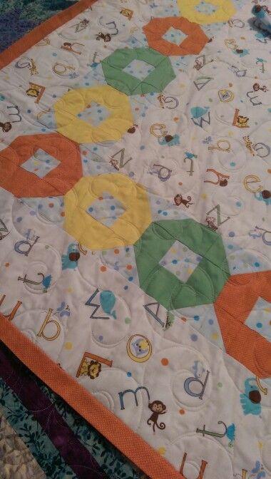 Sarahs baby blanket, 2014