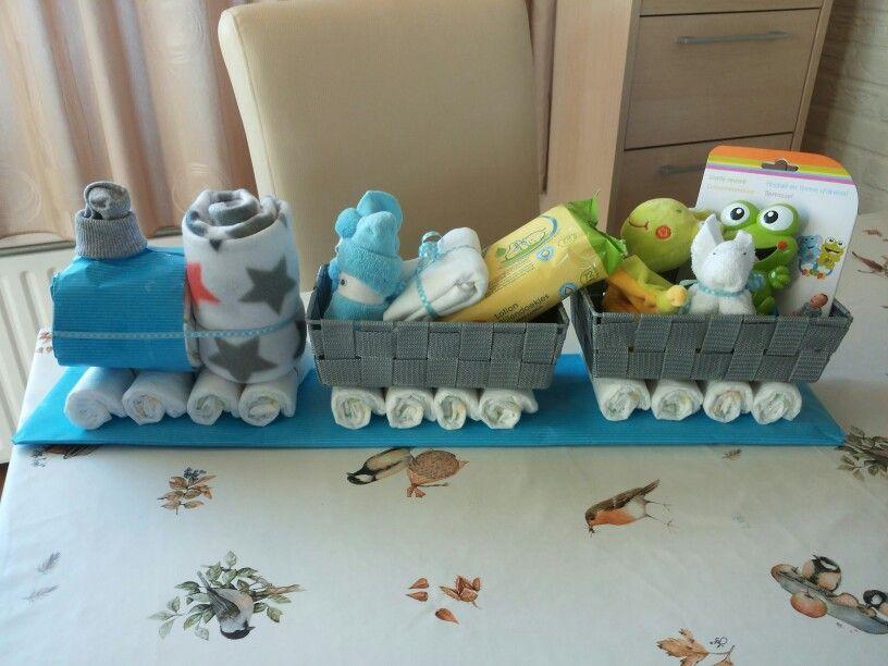 Train Baby Shower Cake Part - 29: Idea For Tinau0027s Train Baby Shower
