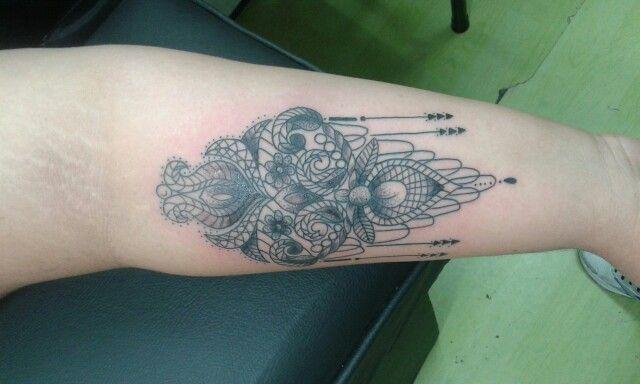Adriel tattoo mandala
