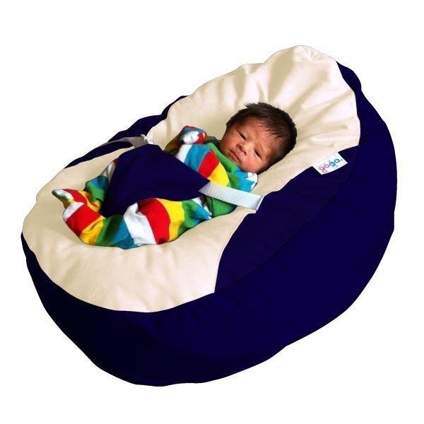 Admirable Gaga Navy Cuddlesoft Pre Filled Baby Bean Bag With Machost Co Dining Chair Design Ideas Machostcouk