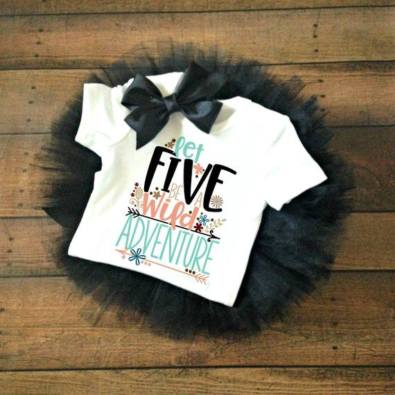 Fifth Birthday Outfit Girl 5th Gift Shirt Baby Boy Happy Bi