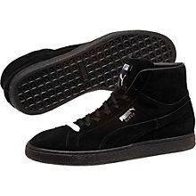 black suede puma high tops