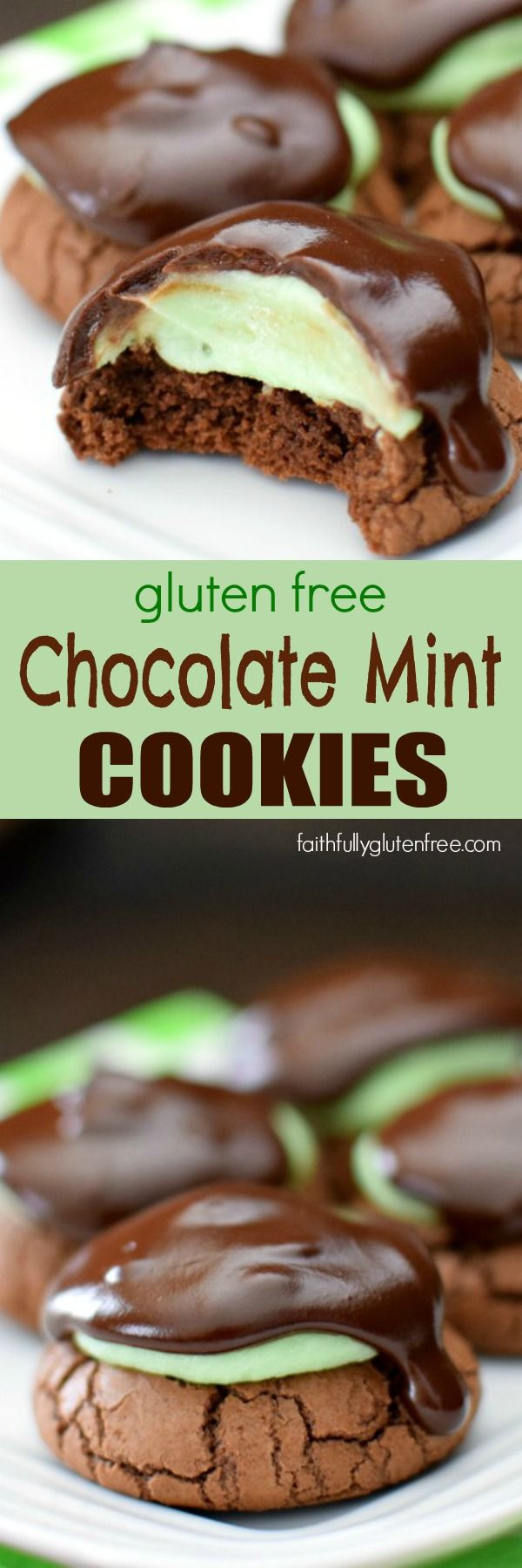 Gluten Free Chocolate Mint Cookies Recipe Gluten Free