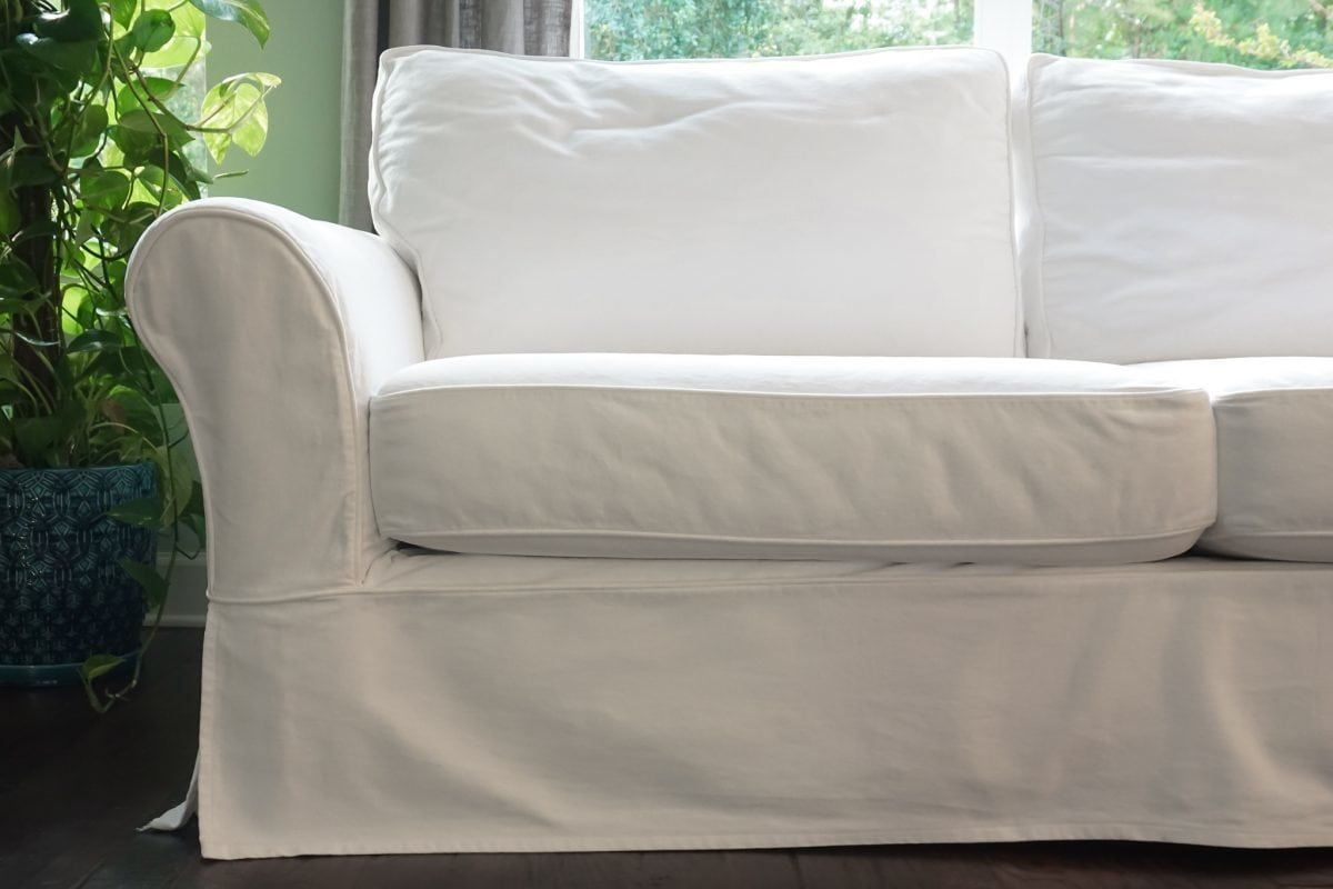 Cleaning Your Pottery Barn Slipcovered Sofa Pottery Barn