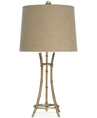 Stylecraft bamboo table lamp lighting s