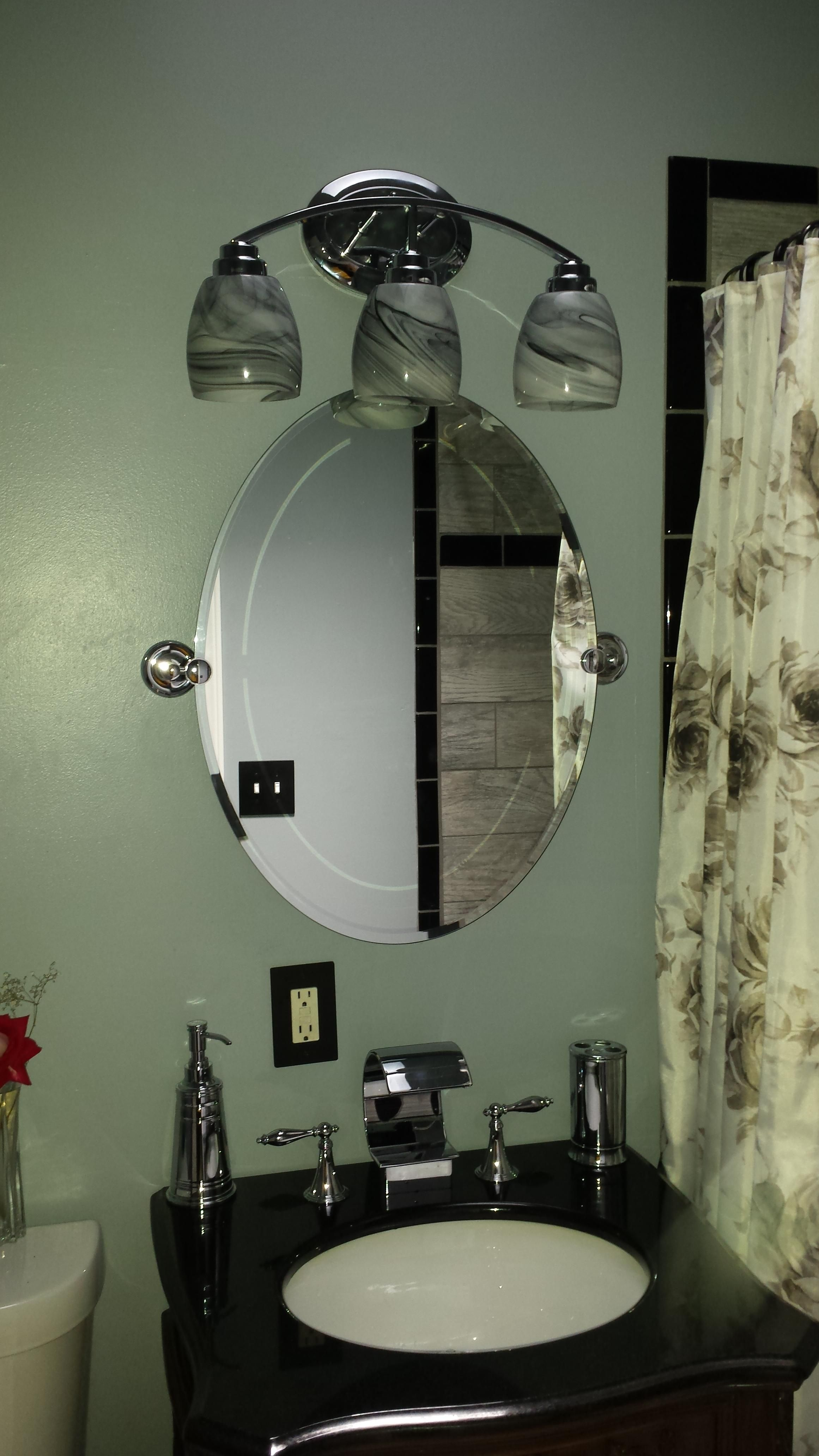 Complete Bathroom Remodel What Was Old Is Now New #Handmade