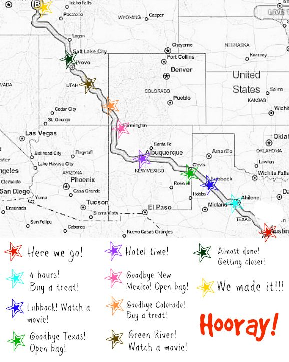 just a touch of crazy how to create your own road trip map