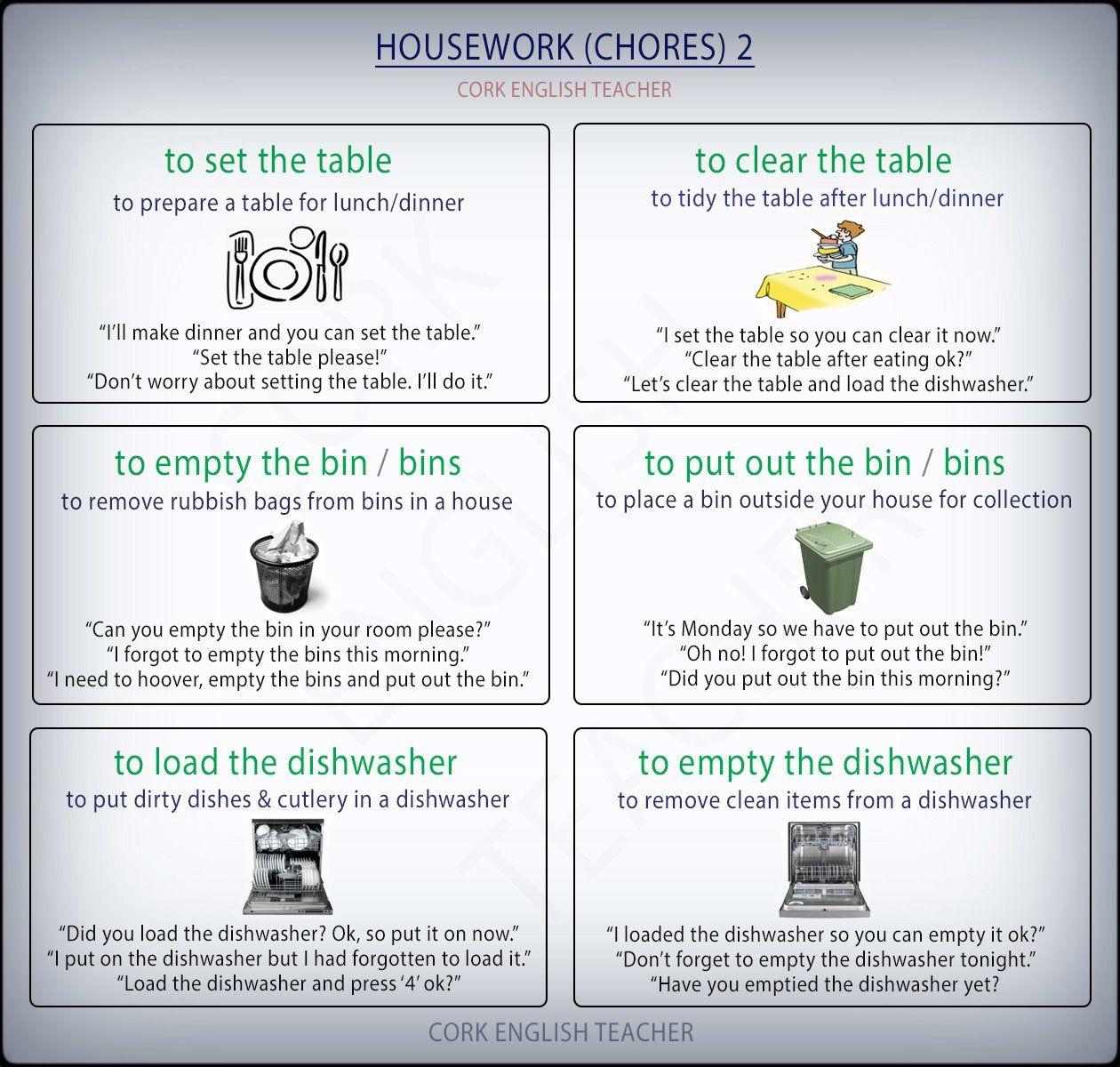 Housework Chores 2