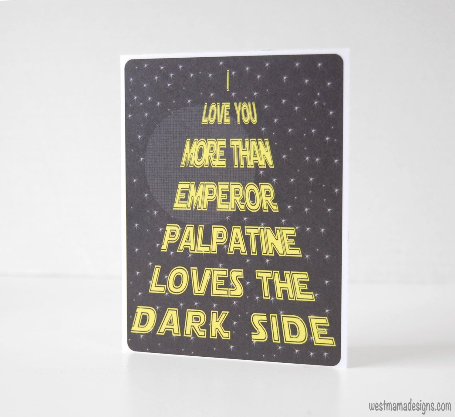 "I Love You More Than Funny Quotes I Love You More Than Emperor Palpatine Loves The Dark Side."" The"