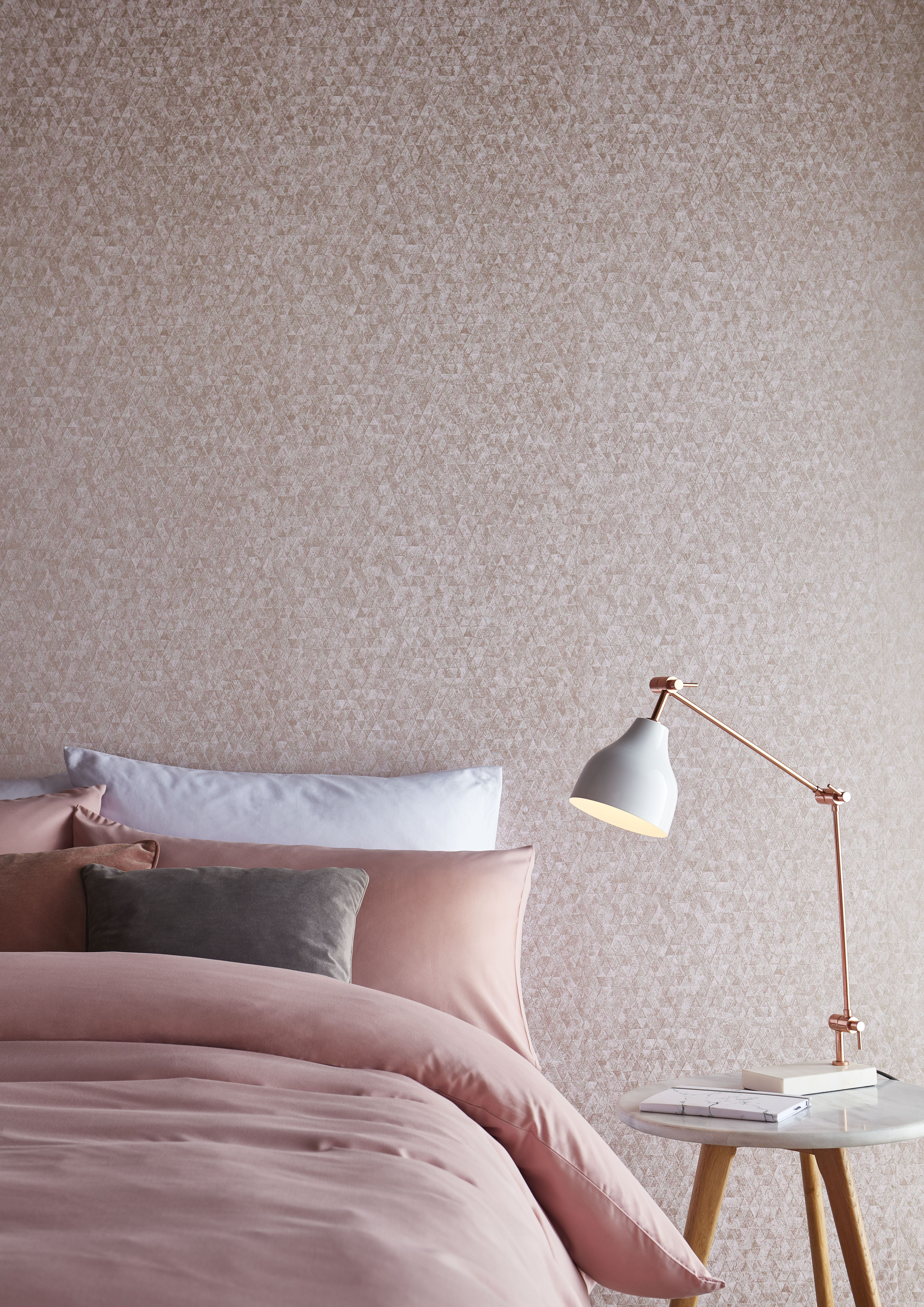 Pin By Graham Brown Wallpaper P On Kids Rooms Dusty Pink Bedroom Bedroom Wallpaper Roses Brown Rooms